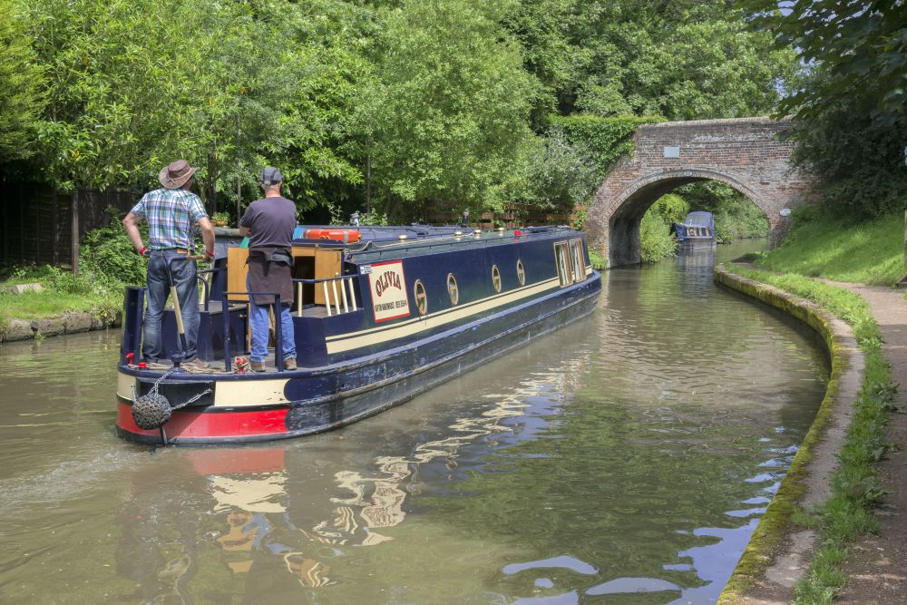 Canal boat trip for cancer patients