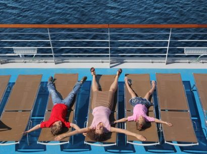 Family on Sail 4 Cancer cruise holiday