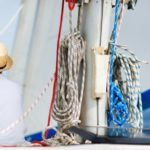 Father and son on a sailing day - Sail 4 Cancer