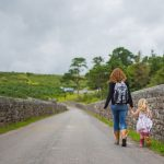 Mother and daughter exploring Dartmoor