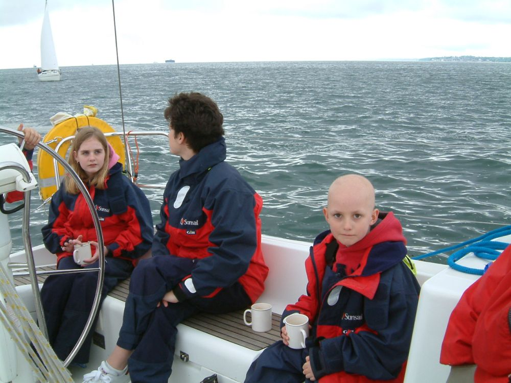 Sailing day on the Solent