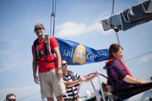 Family sailing day - Sail 4 Cancer